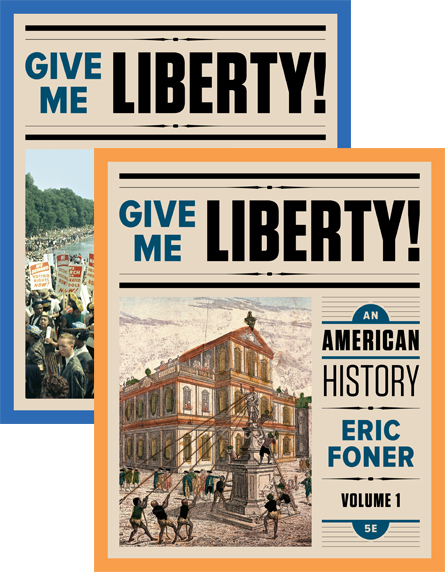 give me liberty chapter 1 Coupon: rent give me liberty an american history, seagull edition volume 1 4th edition (9780393920307) and save up to 80% on.