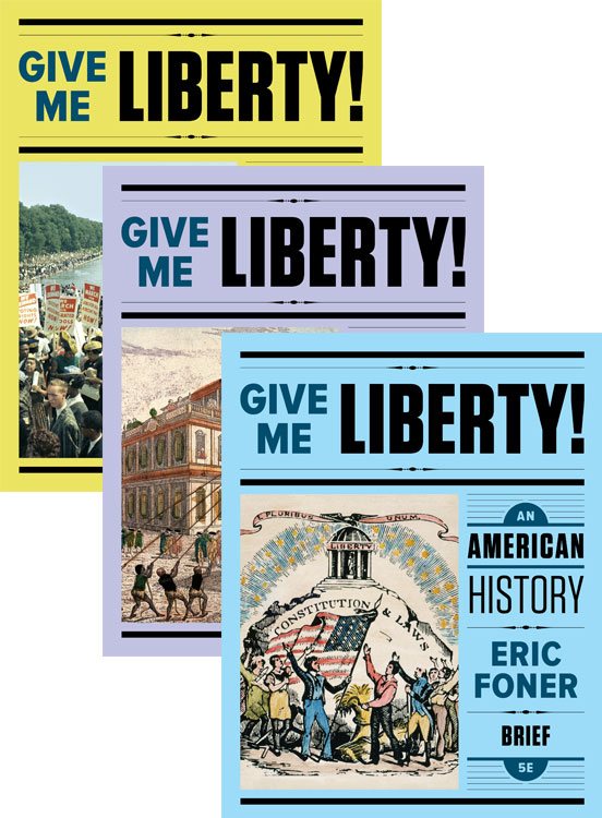 Give me liberty fifth edition the brief edition offers a narrative that is 30 shorter than the full edition a smaller trim size and a mid level price one volume fandeluxe Image collections