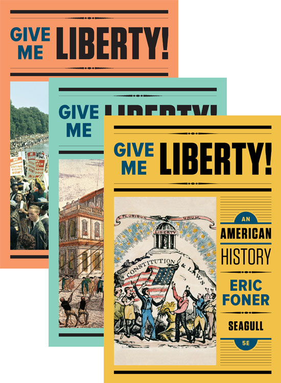 Give me liberty fifth edition the seagull editionproduced for the first time in full coloroffers the full text in a compact trim size with fewer images and maps and all the pedagogy fandeluxe Image collections