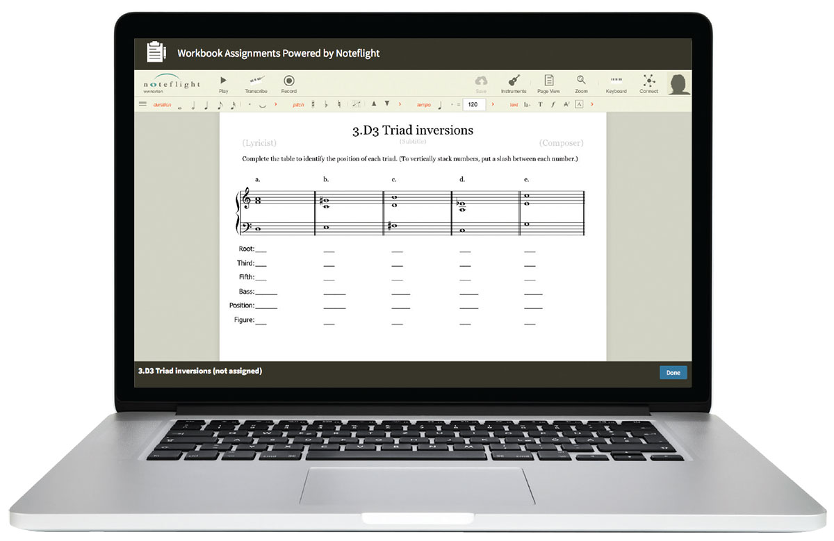 Workbooks music in theory and practice workbook : Know It? Show It! Pedagogy for Teaching Music Theory