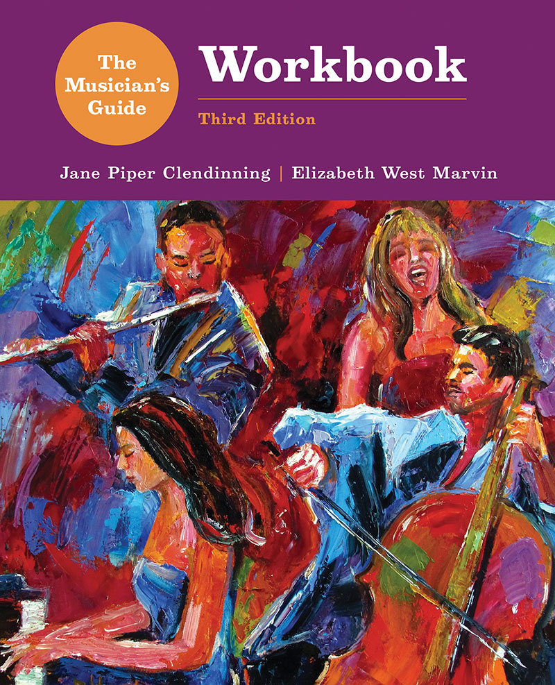 Workbooks music in theory and practice workbook : The Musician's Guide to Theory and Analysis, 3e